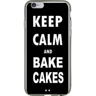 Keep calm and bake cakes - iPhone 6 - 4.7 inch screen - FREE SHIPPING WITHIN USA OS-Clear- Cool Jerseys