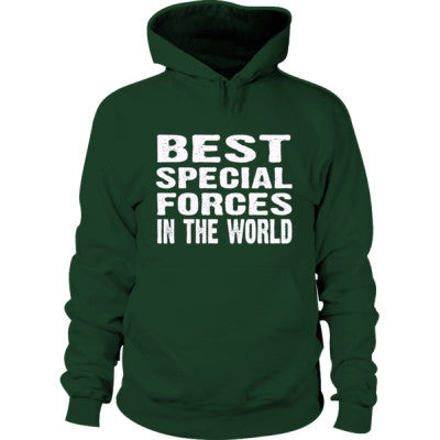 Best Special Forces In The World - Hoodie S-Forest Green- Cool Jerseys - 1