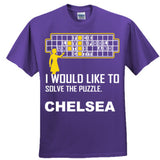 Chelsea Football Shirt - Ultra Cotton™ 100% Cotton T Shirt S-Purple- Cool Jerseys - 3