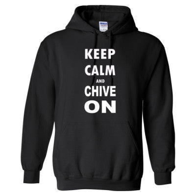 Keep Calm And Chive On S-Black- Cool Jerseys - 1