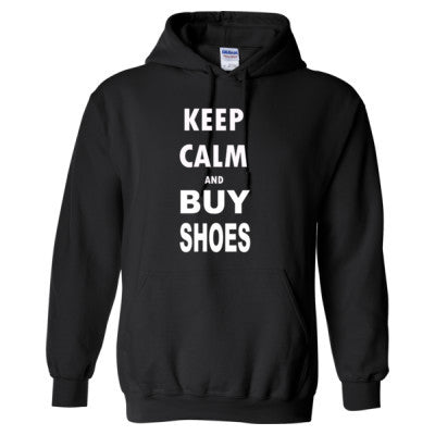 Keep Calm and Buy Shoes - Heavy Blend™ Hooded Sweatshirt - Cool Jerseys - 1
