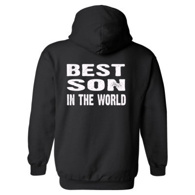 Best Son In The World - Heavy Blend™ Hooded Sweatshirt BACK ONLY S-Black- Cool Jerseys - 1