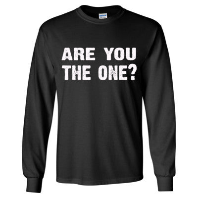 Are you the one tshirt - Long Sleeve T-Shirt S-Black- Cool Jerseys - 1