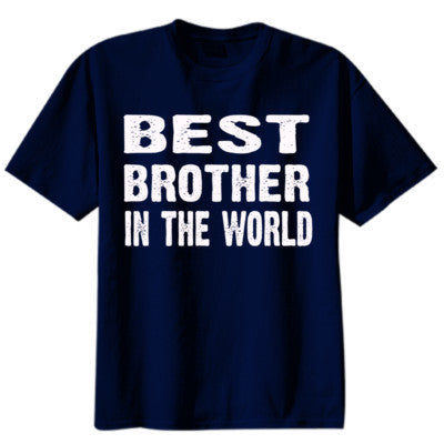 Best Brother In The World - Youth Boys Short-Sleeve T-Shirt - Cool Jerseys - 1