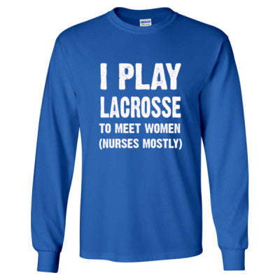 I Play Lacrosse To Meet Women - Cool Jerseys - 1