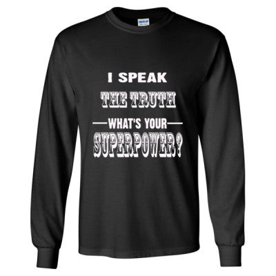 I Speak The Truth - Long Sleeve T-Shirt - Cool Jerseys - 1