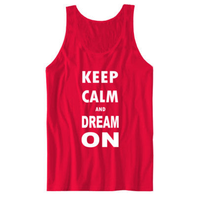 Keep Calm And Dream On - Unisex Jersey Tank - Cool Jerseys - 1