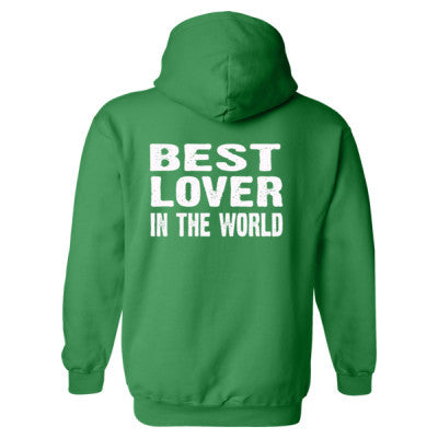 Best Lover In The World - Heavy Blend™ Hooded Sweatshirt BACK ONLY S-Irish Green- Cool Jerseys - 1