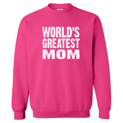 Worlds Greatest Mom - Heavy Blend™ Crewneck Sweatshirt S-Heliconia- Cool Jerseys - 1