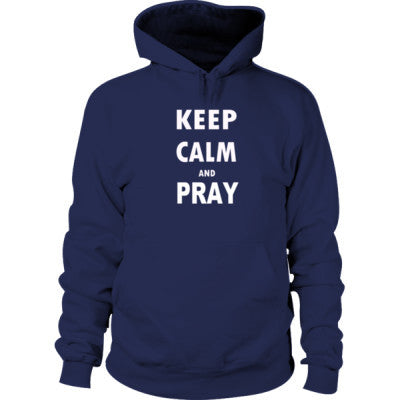Keep Calm And Pray - Hoodie - Cool Jerseys - 1