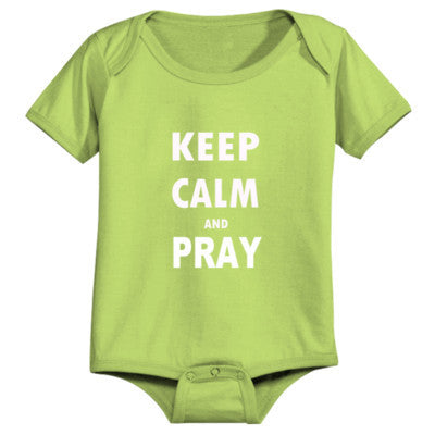Keep Calm And Pray - Infant 1 Piece - Cool Jerseys - 1