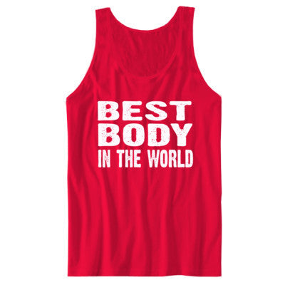 Best Body In The World - Unisex Jersey Tank - Cool Jerseys - 1
