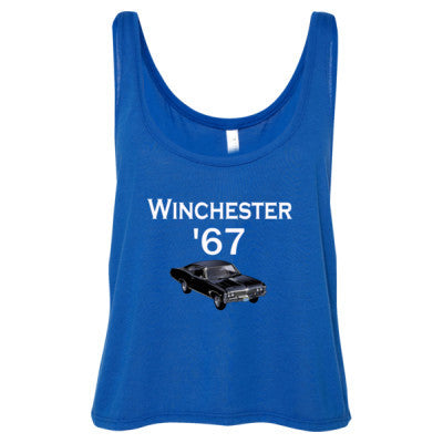 67 Winchester Impala Tshirt S-True Royal- Cool Jerseys - 1