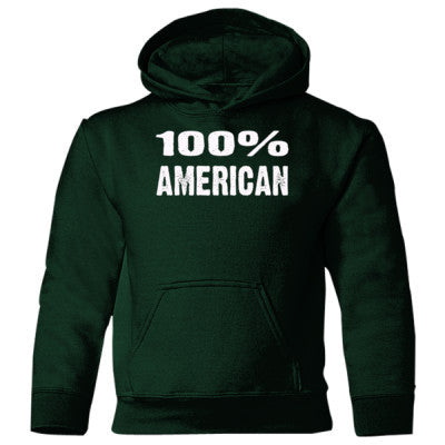 100% American Heavy Blend Children's Hooded Sweatshirt - Cool Jerseys - 1