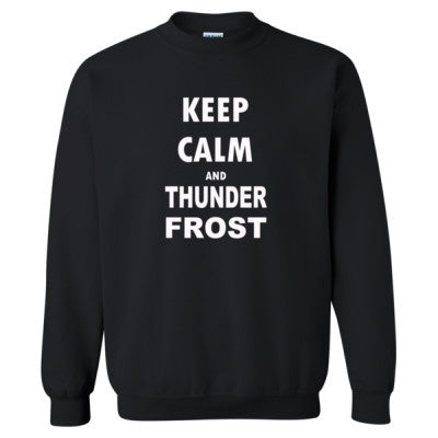 Keep Calm And Thunderfrost - Heavy Blend™ Crewneck Sweatshirt - Cool Jerseys - 1
