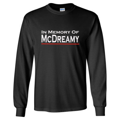 In Memory of McDreamy tshirt - Long Sleeve T-Shirt S-Black- Cool Jerseys - 1