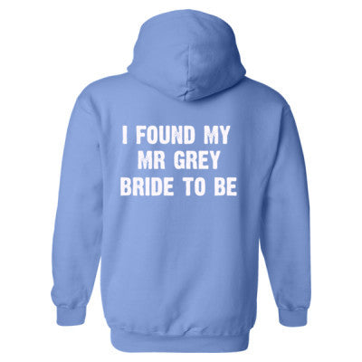 I Found My Mr Grey Heavy Blend™ Hooded Sweatshirt BACK ONLY S-Carolina Blue- Cool Jerseys - 1