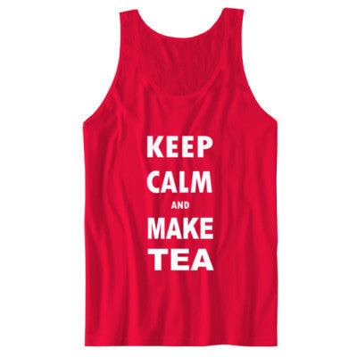 Keep Calm And Make Tea - Unisex Jersey Tank - Cool Jerseys - 1