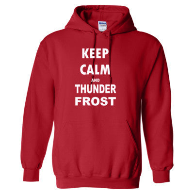 Keep Calm And Thunderfrost - Heavy Blend™ Hooded Sweatshirt - Cool Jerseys - 1
