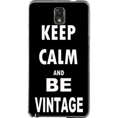 Keep Calm And Be Vintage - Samsung Note 3 Cover - FREE SHIPPING WITHIN USA OS-Clear- Cool Jerseys