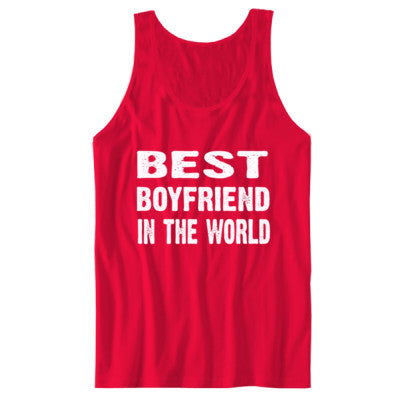 Best Boyfriend In The World - Unisex Jersey Tank - Cool Jerseys - 1