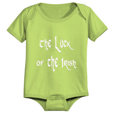 Luck Of The Irish - Infant 1 Piece - Cool Jerseys - 1