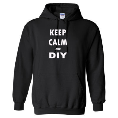 Keep Calm And DIY - Heavy Blend™ Hooded Sweatshirt - Cool Jerseys - 1