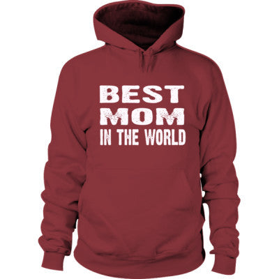 Best Mom In The World - Hoodie S-Maroon- Cool Jerseys - 1