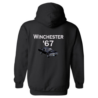 1967 Impala Supernatural hoodie S-Black- Cool Jerseys - 1