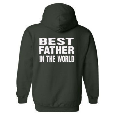 Best Father In The World - Heavy Blend™ Hooded Sweatshirt BACK ONLY S-Forest- Cool Jerseys - 1