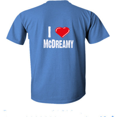 I Love Mc Dreamy tshirt - Ultra-Cotton T-Shirt Back Print Only S-Iris- Cool Jerseys - 1