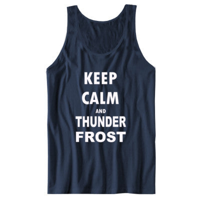 Keep Calm And Thunderfrost - Unisex Jersey Tank - Cool Jerseys - 1