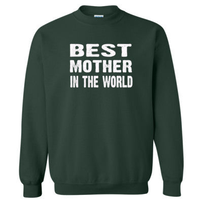 Best Mother In The World - Heavy Blend™ Crewneck Sweatshirt S-Forest- Cool Jerseys - 1