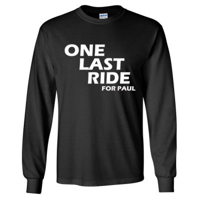 Fast and Furious 7 Tshirt - Long Sleeve T-Shirt S-Black- Cool Jerseys - 1