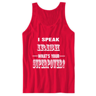 I Speak Irish - Unisex Jersey Tank - Cool Jerseys - 1