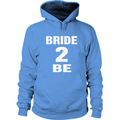 Bride To Be Hoodie S-Carolina Blue- Cool Jerseys - 1