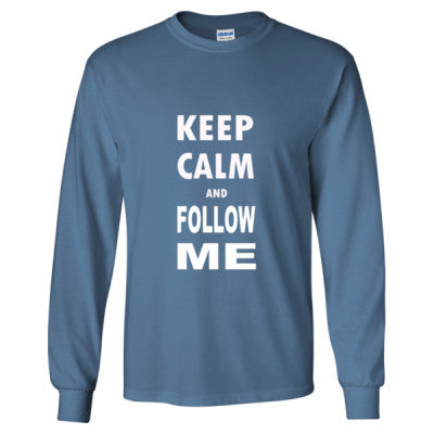 Keep Calm And Follow Me - Long Sleeve T-Shirt - Cool Jerseys - 1