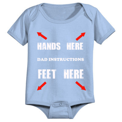 Dad Instruction Manual - Infant 1 Piece 24M-Light Blue- Cool Jerseys - 1