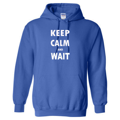 Keep Calm And Wait - Heavy Blend™ Hooded Sweatshirt - Cool Jerseys - 1