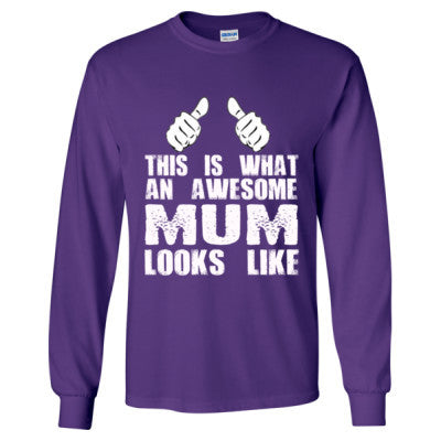 Good Mothers Day Gifts - Long Sleeve T-Shirt - Cool Jerseys - 1