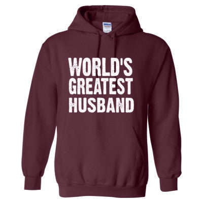 Worlds Greatest Husband - Heavy Blend™ Hooded Sweatshirt - Cool Jerseys - 1