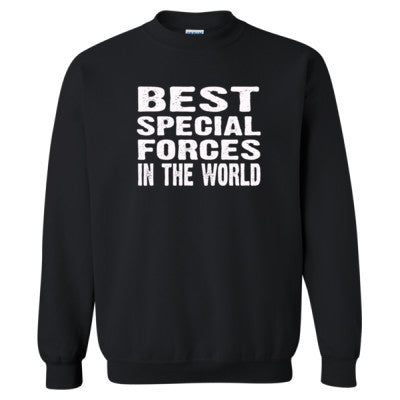 Best Special Forces In The World - Heavy Blend™ Crewneck Sweatshirt S-Black- Cool Jerseys - 1