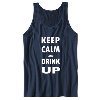 Keep Calm And Drink Up - Unisex Jersey Tank - Cool Jerseys - 1