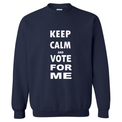 Keep Calm And Vote For Me - Heavy Blend™ Crewneck Sweatshirt S-Navy- Cool Jerseys - 1