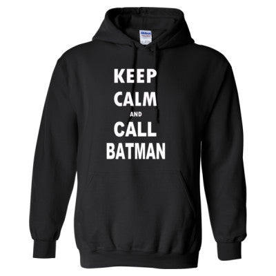 Keep Calm and Call Batman - Heavy Blend™ Hooded Sweatshirt - Cool Jerseys - 1