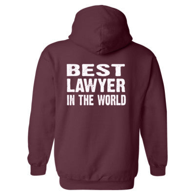 Best Lawyer In The World - Heavy Blend™ Hooded Sweatshirt BACK ONLY S-Maroon- Cool Jerseys - 1