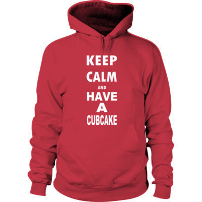 Keep Calm And Have A Cubcake - Hoodie S-Cardinal Red- Cool Jerseys - 1