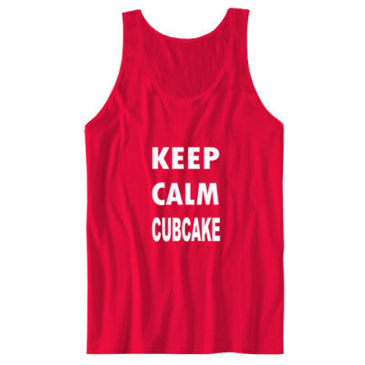 Keep Calm Cubcake - Unisex Jersey Tank - Cool Jerseys - 1