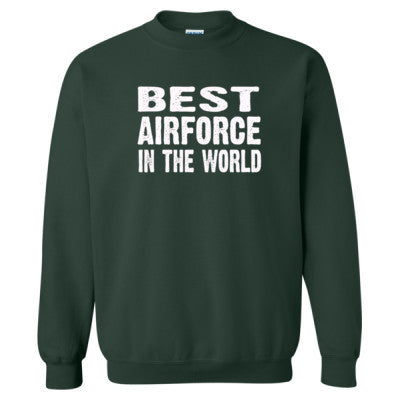Best Airforce In The World - Heavy Blend™ Crewneck Sweatshirt S-Forest- Cool Jerseys - 1