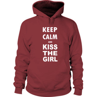 Keep Calm And Kiss the Girl - Hoodie - Cool Jerseys